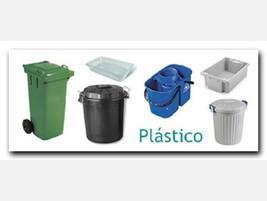 Cubos de plástico