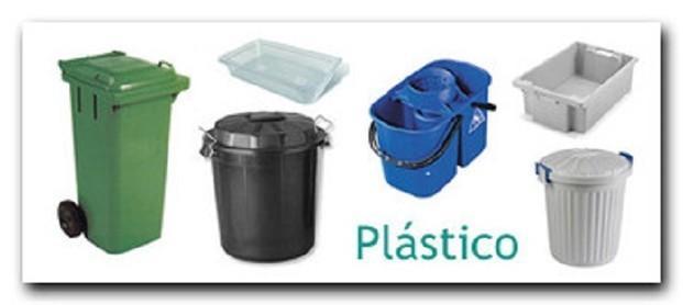 Cubos de Basura.Cubos de basura y limpieza
