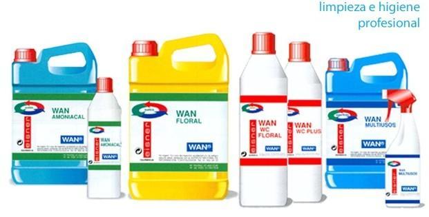 Gama Wan. Limpieza e higiene profesional