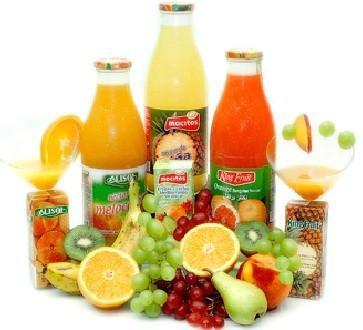 Zumos Naturales. Zumos, néctares y bebidas lácteas frutales
