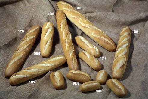 Pan. Fabricamos pan congelado de varios tipos