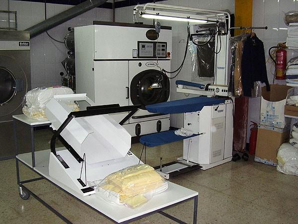 Lavandería Industrial.Maquinaria de última tecnología.