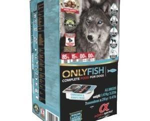 Alpha Only FIsh. Alimento para perros de pescado