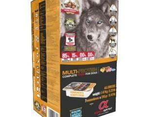 Alpha multiproteinas. Alimento para perros multiproteinas, 4.5 kg