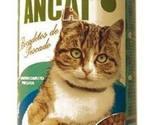 Ancat para gatos. Bocaditos de pescado, 415 gramos