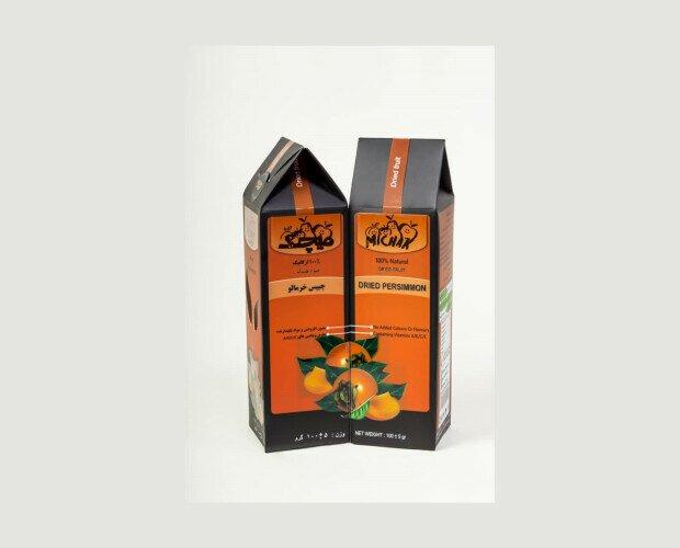 Caqui Deshidratado. Delicioso sabor equilibrado, es una valiosa fuente natural de fibra y antioxidantes