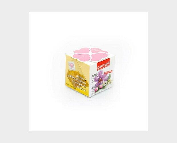 Té de rosa con Azahar y Azafrán. Esta infusión es refrescante y antirreumático