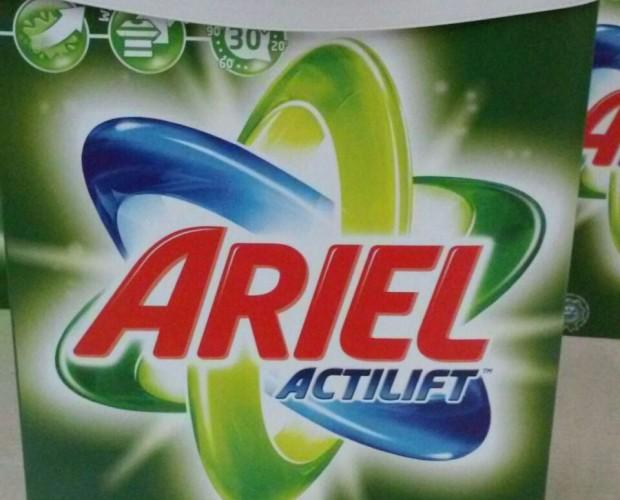 Jabón de ropa. Jabón de ropa Ariel