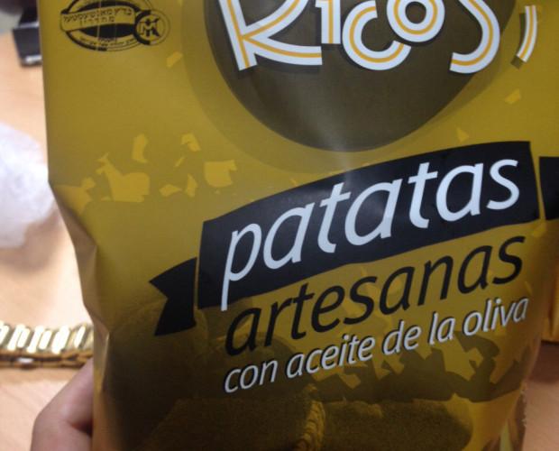 Patatas Fritas.Patatas fritas artesanas Kosher