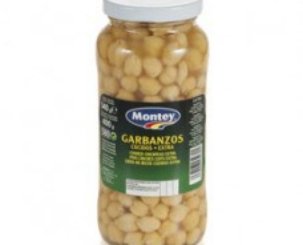 Garbanzos Montey. Tarro 580 ml