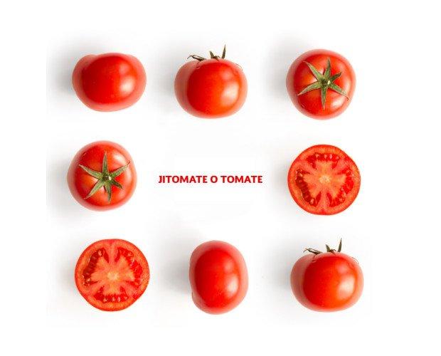 Jitomate o Tomates. Considerada la hortaliza número uno