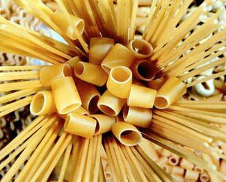 Pasta. Productos originales de Italia