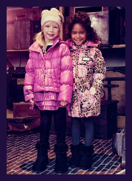 Abrigos para niñas. Abrigos de varios tipos y modelos