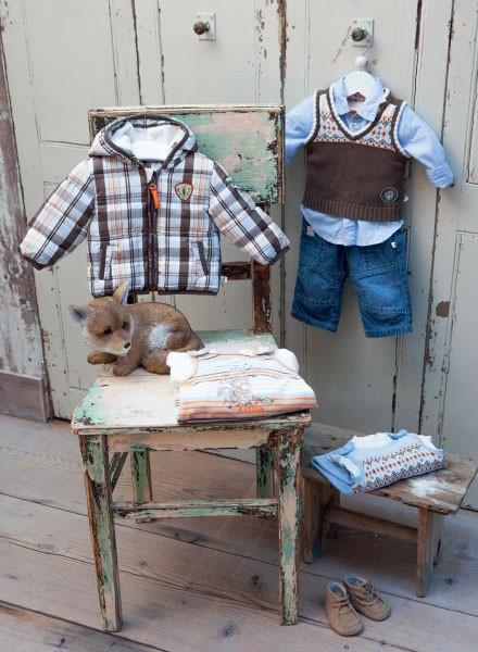 Abrigos y calzado para bebés. Moda para bebés