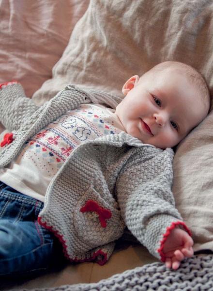 Jerseys para bebés. Jerseys y abrigos para bebés