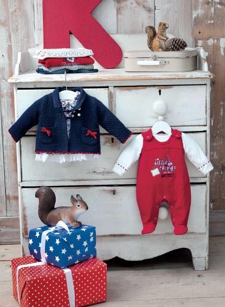 Moda para bebés. Ropa para bebés, varios modelos