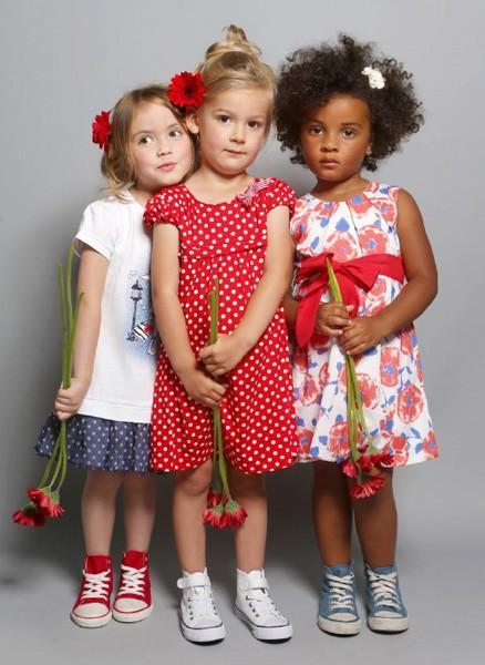 Vestidos para las más pequeñas. Variedad de modelos