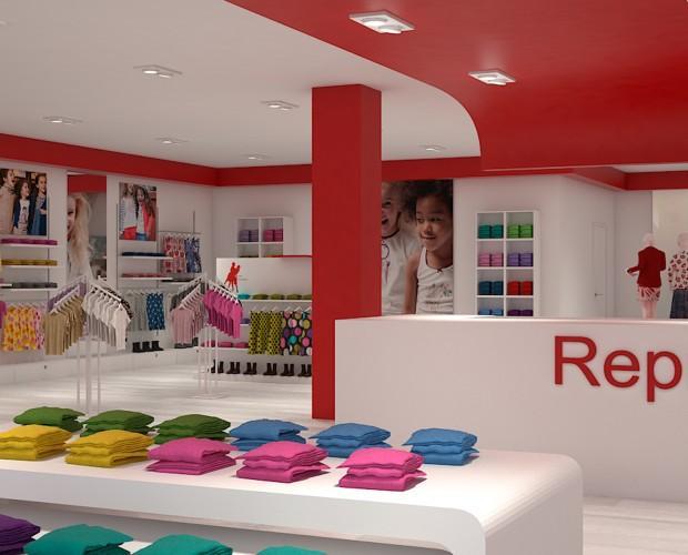 Mobiliario exclusivo. Todo para montar su tienda infantil