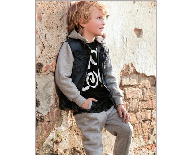 Conjunto para niño con chaqueta. Chaquetas de jean