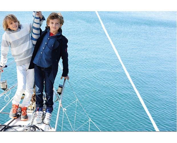 Pantalones y chaquetas para niños. Talles del 0 al 16