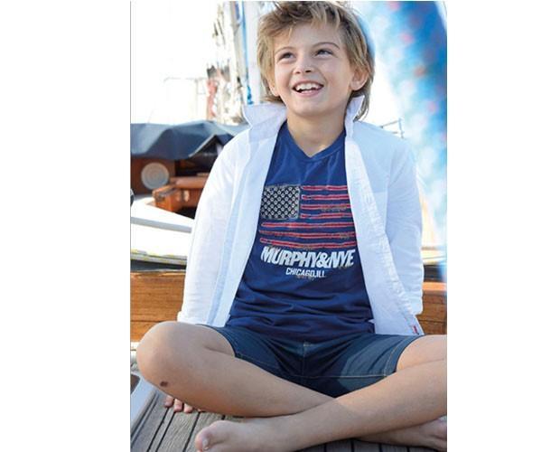 Ropa infantil para niños. Camisas infantiles