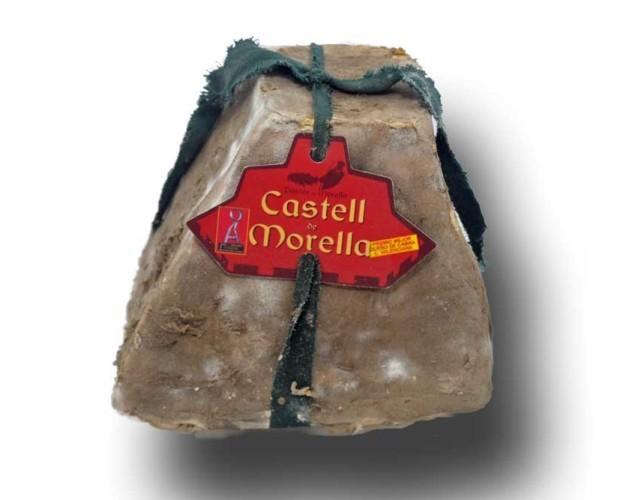 Castell de Morella. Queso de cabra enmohecido