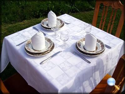 Textil para hostelería. Mantelería, servilletas, fundas de  sillas