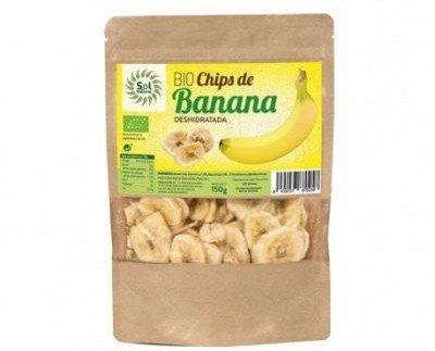 Frutas Deshidratadas.Chips de banana