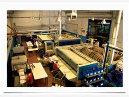 Lavanderia industrial mejorada del campo