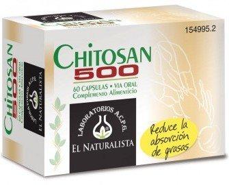 Chitosan 500. Reduce la absorción de grasa