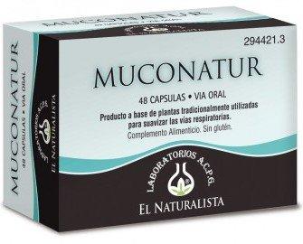 Muconatur. Productos a base de plantas tradicionalmente utilizadas para suavizar las vías respiratorias