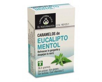 Caramelos de eucalipto y mentol. Refrescan la garganta y despejan la nariz