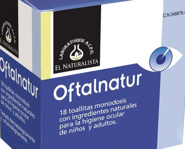 Oftalnatur. Toallitas monodosis para la higiene ocular
