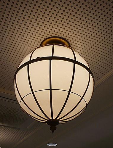 Iluminación Viena. Iluminación decorativa de interiores para la cadena de Restaurantes Viena