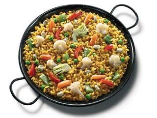 Paella de verduras. Paellas de verduras ideal para vegetarianos