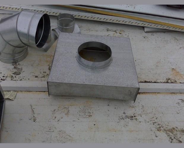 Instalación de salida de humos. Materiales de calidad