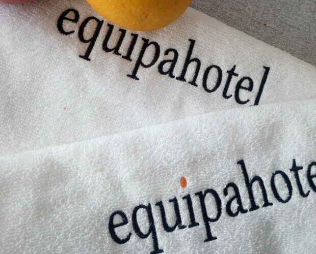 Toallas spa bordadas. Toallas de 500 gr bordadas por equipahotel, solicita más información