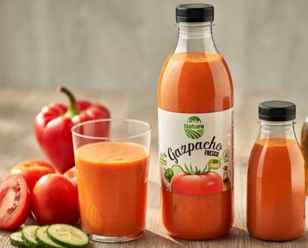 Purés de Frutas.Gazpacho Caña Nature 100% natural, sabroso y saludable.