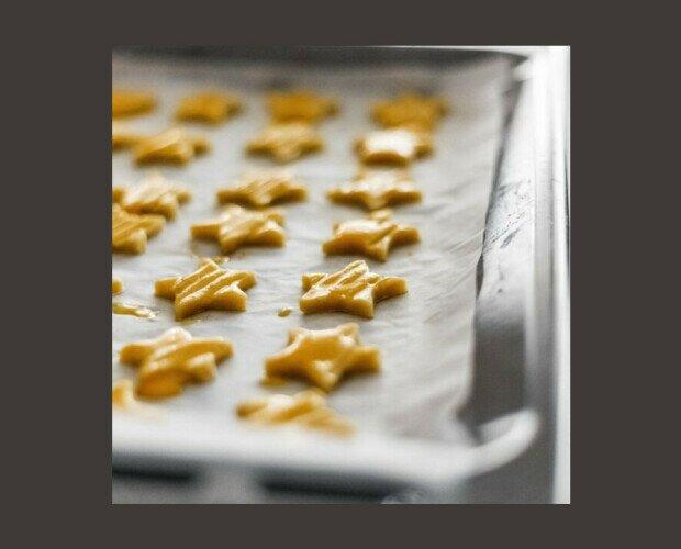 Galletas Estrellas. Para quienes necesitan tener siempre una caja con galletas