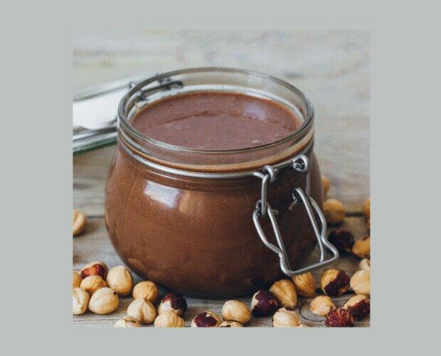 Nutella Vegana. Ideal para acompañar tostadas, galletas e incluso rellenar bizcochos