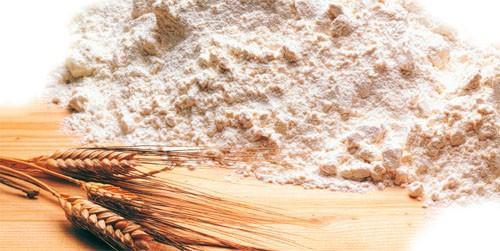 Harina. Varios tipos de harinas