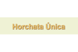Horchata y Granizados Única