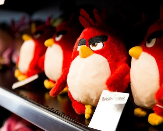 Peluches. Angry Birds