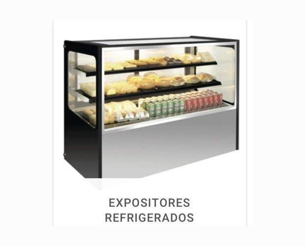 Vitrina frigorífica. Expositor refrigerado