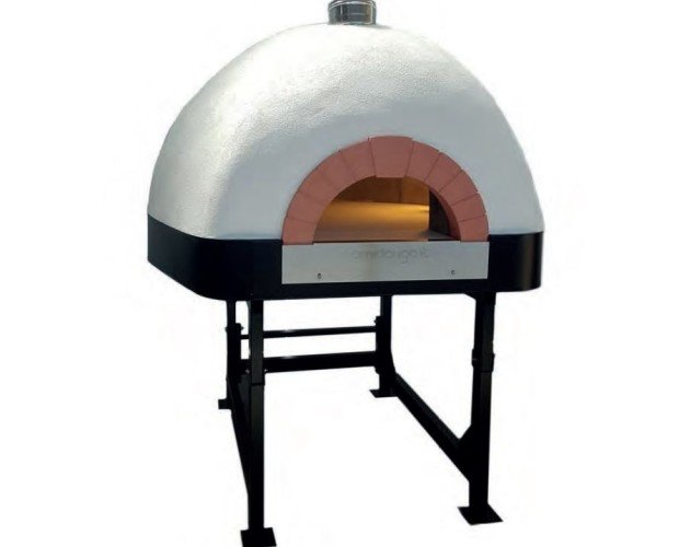 Horno de leña para 3 o 5 pizzas. Disponible en varios modelos con diferentes diámetros