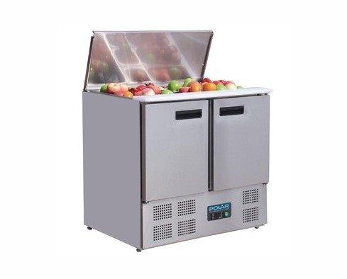 Mostrador de ensaladas. Refrigerado
