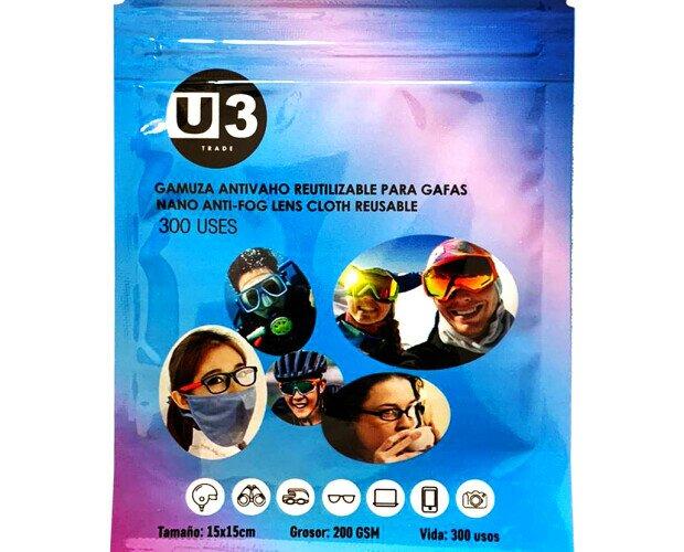 Gamuza Antivaho.. Toallita Antivaho para Gafas. A partir de 10.000 Udes las podemos personalizar.