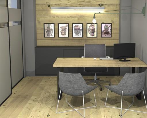 Oficina comercial. Despacho principal para oficina comercial