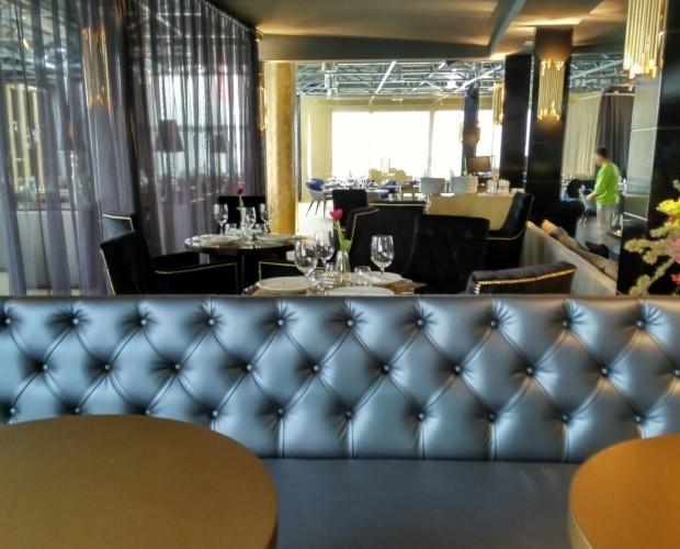Sofás para Hoteles.Bancadas para restaurante terraza Zielou en Madrid.
