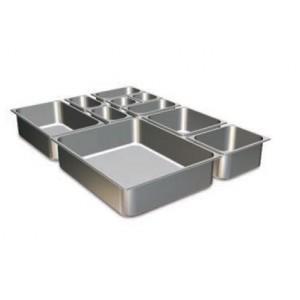 Mobiliario de acero inoxidable. Proveedores de Cubetas